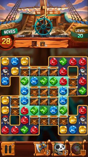 Jewel Voyage: Match-3 puzzle apktram screenshots 5