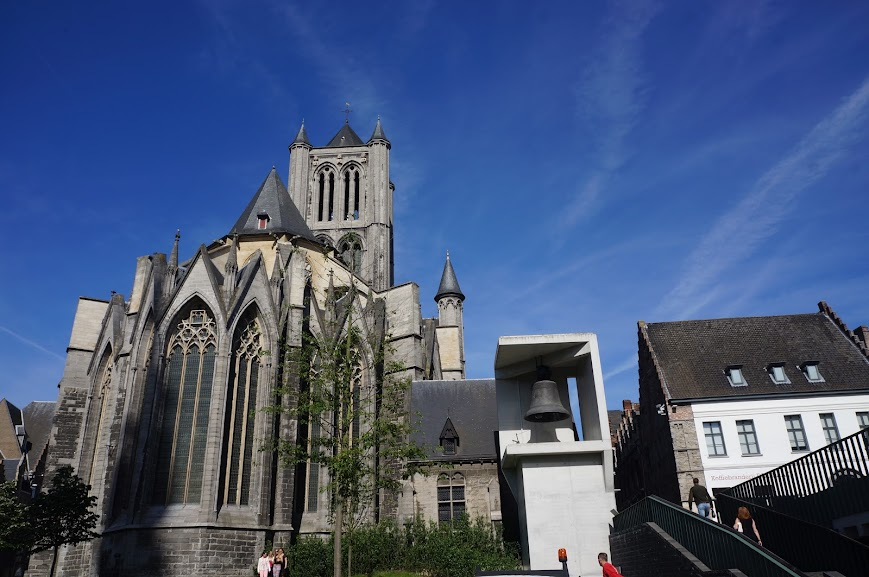 St. Bavo's Cathedral in Ghent, Belgium (2014)