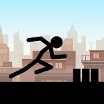 Stickman Runner Parkour icon