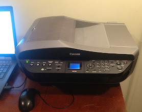 Photo: finally set up the printer/scanner given to us in February!