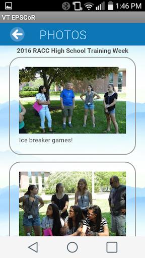Vermont EPSCoR Communications  screenshots 6