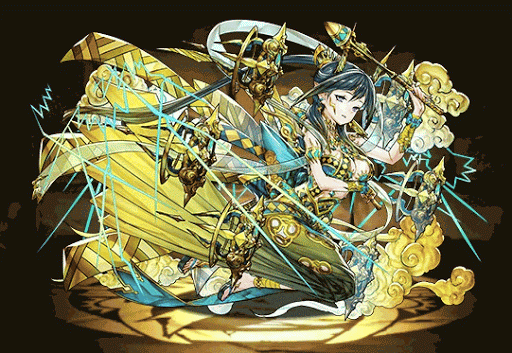 黄角の天鬼姫・雷神