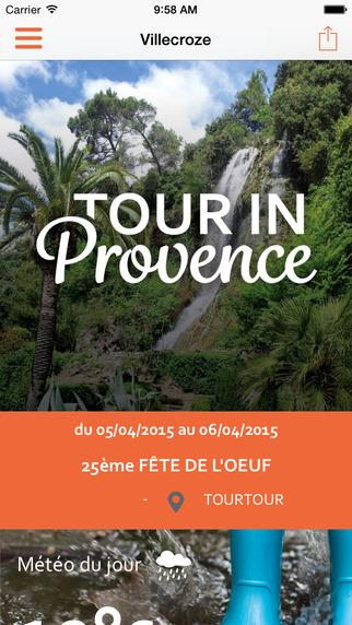Tour in Provence Haut Var- screenshot