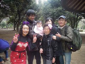 Photo: えっちゃん、おがの旦那様&おが(めいちゃん)+おくさん、サッキー