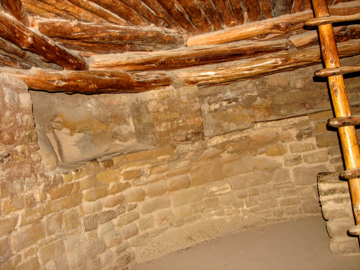 Inside Kiva, Spruce Tree House
