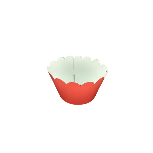Cup Cake Altolitho Rojo 25und