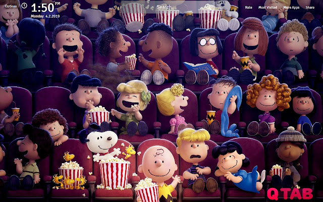 Peanuts Wallpapers HD Peanuts Movie New Tab