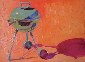 Photo: Weber II, oil on canvas by Nancy Roberts, copyright 2014. Private collection.