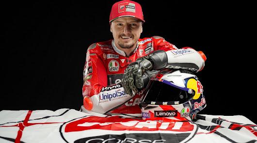 Jack Miller renueva su contrato con el equipo Ducati Lenovo por un año más