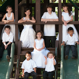 by Myra Brizendine Wilson - Babies & Children Child Portraits ( siblings, children, family,  )