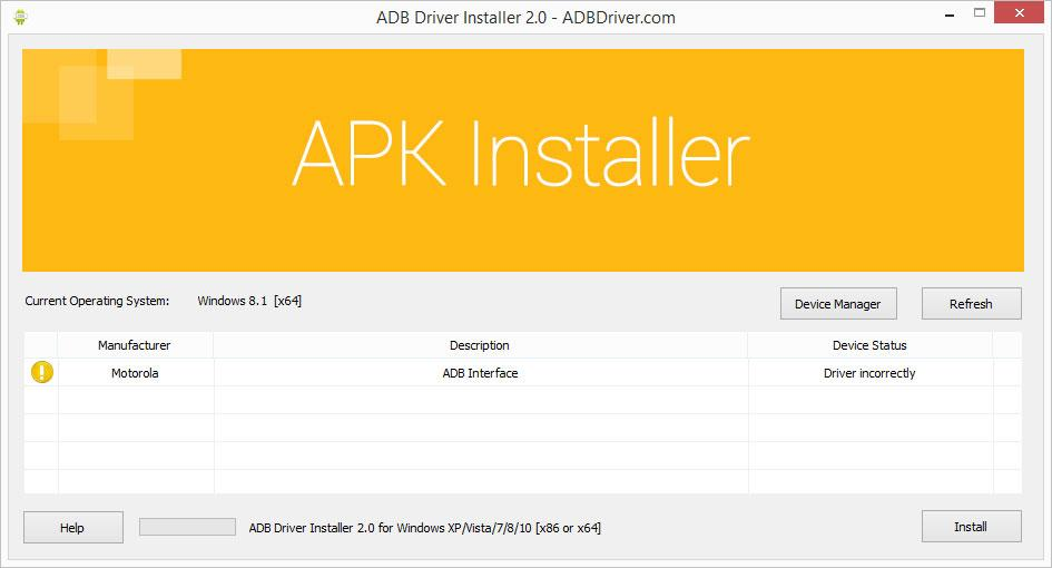 Android drivers zip