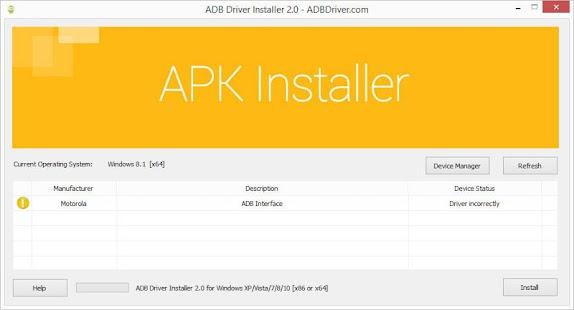 """Résultat de recherche d'images pour """"adb driver installer"""""""