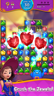 Jewel Witch - Best Funny Three Match Puzzle Game- screenshot thumbnail