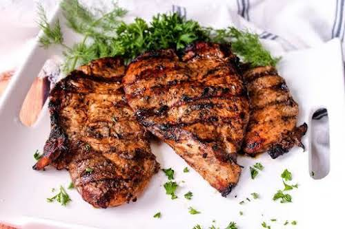 """Ciao Bella Balsamic Grilled Chicken """"Excellent recipe. Being Greek it seems we..."""