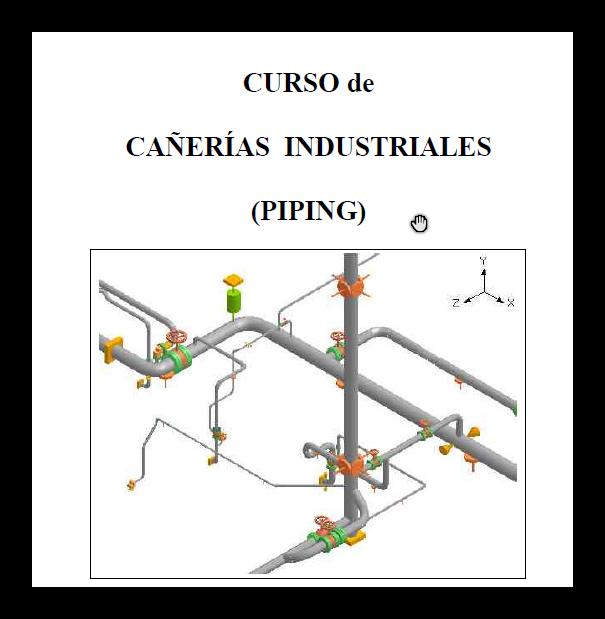 CURSO DE PIPING INTEGRAL TECSUP PRONTO COMPUTER SOLUTIONS  SOLIDWORKS CATIA BUENOS AIRES