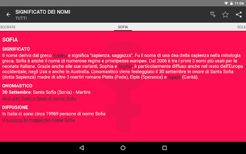 Significato dei Nomi - Nomix- screenshot thumbnail