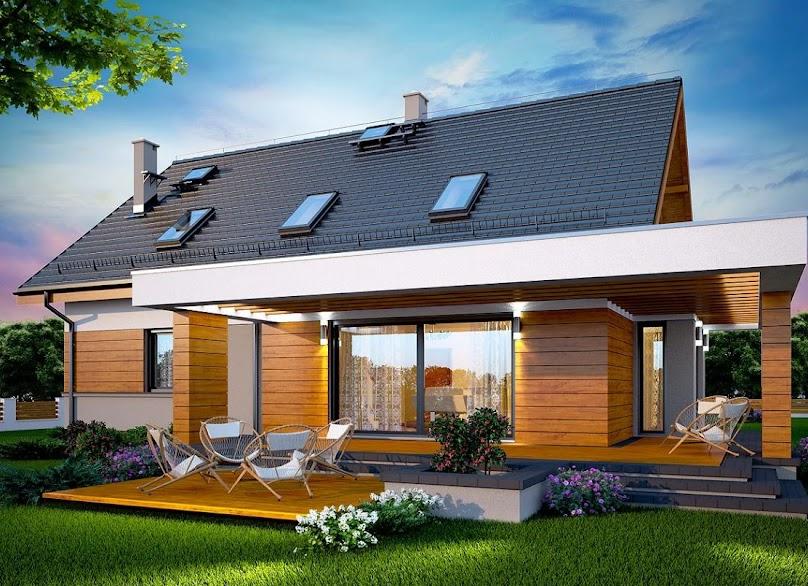 Projekt domu Kaminero Lux