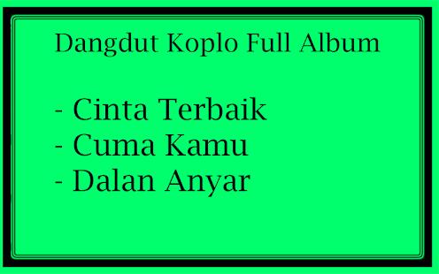 Dangdut Koplo Full Album - náhled