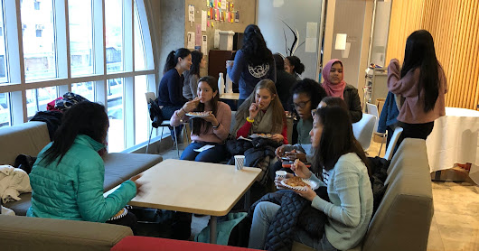YWIB-Metro New York and Weill-Cornell: Mentorship Students 'Speed Date' with Physicians, October 25, 2018