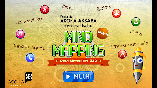 Mind Mapping Materi UN SMP screenshot 0