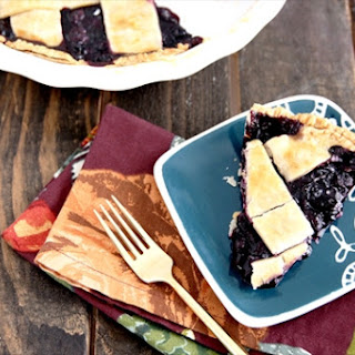 Frozen Blueberry Pie Filling