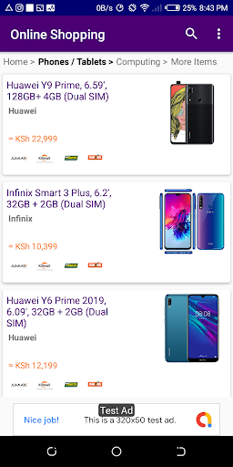 Kenya Online Shopping - All Stores (Compare Price) screenshot 2