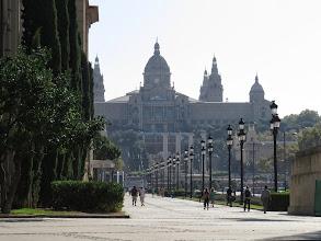 Photo: Saliendo de esa plaza está la subida al Museo de Arte de Cataluña, primer escala en la subida al Montjuic.