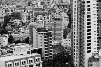 Photo: One of the things I really loved about rooftopping in Southeast Asia, other than the fact that the views are categorically different from that in Toronto, is getting to witness the density of the cities. In my opinion, you can only appreciate this sort of thing from above.