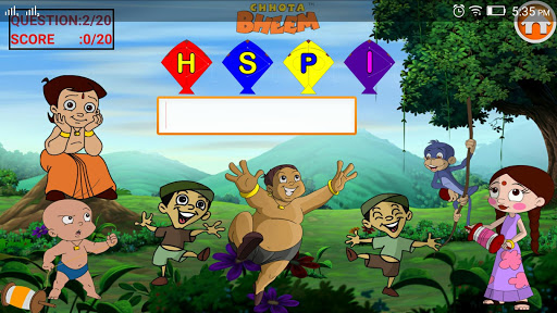 Basic English with ChhotaBheem