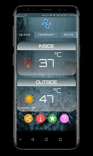 Thermometer Room Temperature screenshot 1