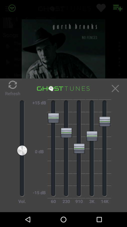 GhostTunes- screenshot