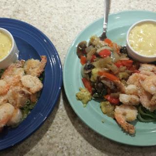 Coconut Shrimp Dinner