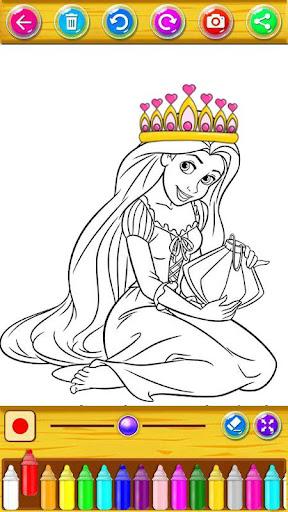 Princess Coloring Book 1.21.2 screenshots 4