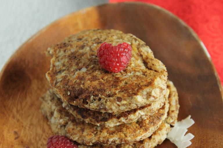 coconut-almond-pancakes