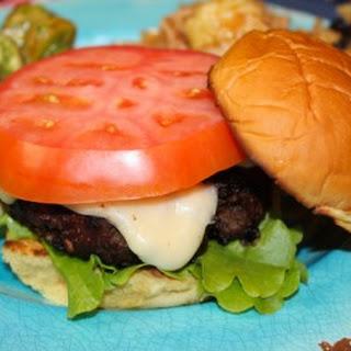 Pancetta Fontina Mushroom Bison Burgers