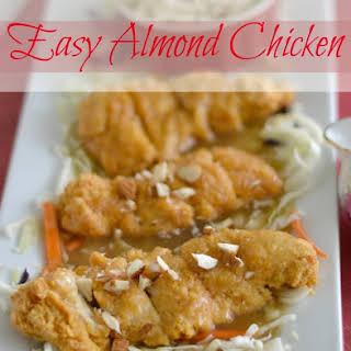 Easy Almond Chicken.