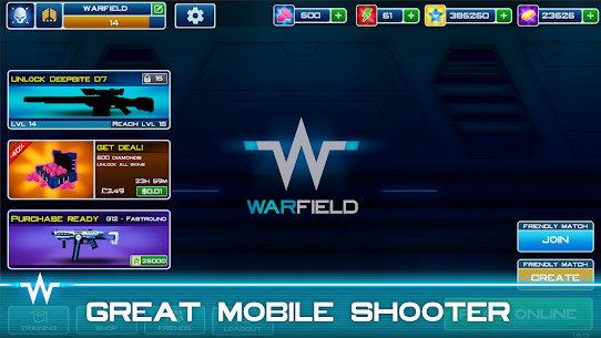 Warfield: Tactical Arena Shooter MOD APK [Free Shopping] 1.9.3 5