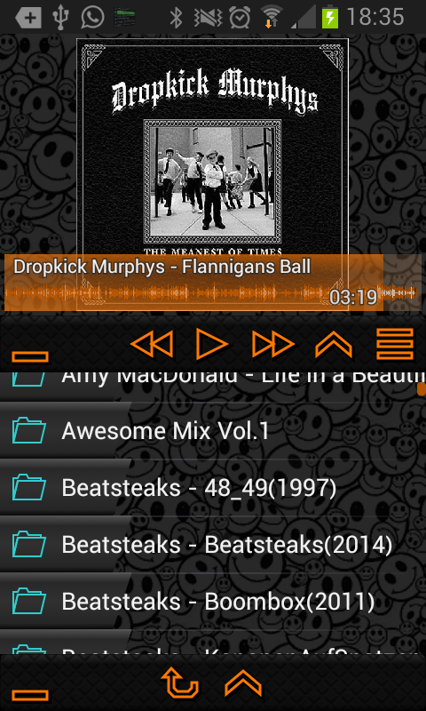 Trax Music Player- screenshot