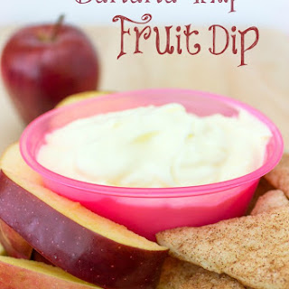 Banana Whip Fruit Dip