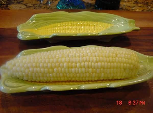 Corn On The Cob -- Bonnie's Recipe