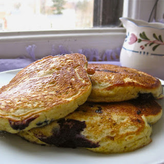 Perfect Gluten-Free Blueberry Pancakes