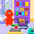 My Monster Town - Supermarket Grocery Store Games