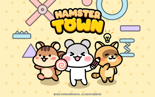 Hamster Town, the cutest drawing puzzle game ever screenshots 24