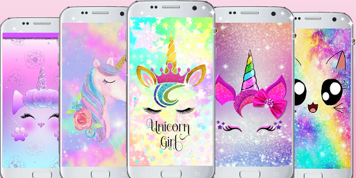 Cute Unicorn Backgrounds Kawaii Wallpapers App Store Data Revenue Download Estimates On Play Store