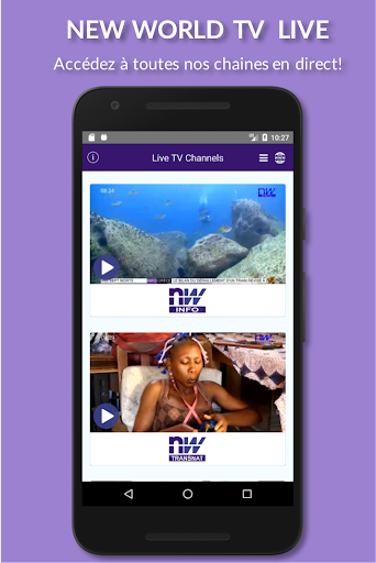 Download New World TV Apk Latest Version » Apps and Games on Android