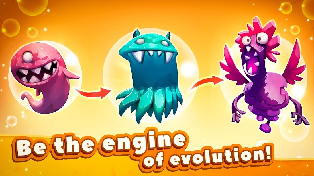 Tap Tap Monsters: Evolution Clicker Android App Screenshot