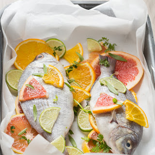 Citrus Sea Bream