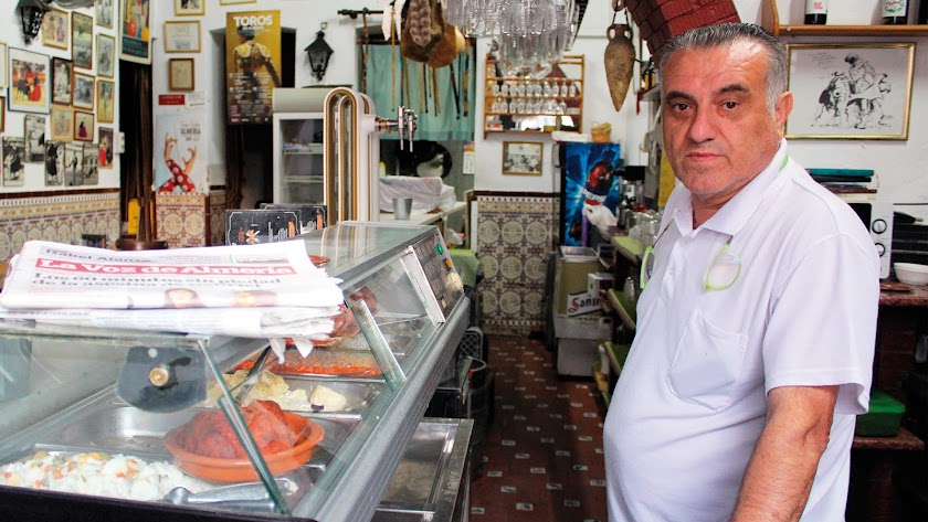 Ramón Belmonte llegó al bar Bahía de Palma en el año 2005.