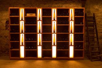Photo: In the beautiful, 1600 year-old cellar.