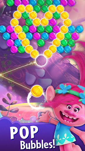 DreamWorks Trolls Pop - Bubble Shooter apkmartins screenshots 1